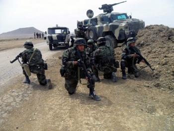 40 азербайджанских солдат попали в окружение
