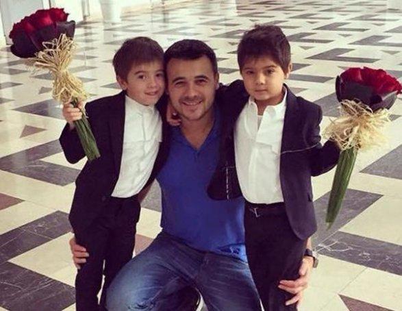 Лейла алиева и эмин агаларов с детьми фото