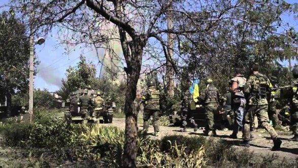 Ситуация на Донбассе остается напряженной. Наибольшую активность враг проявил на Мариупольском направлении, - пресс-центр АТО - Цензор.НЕТ 408