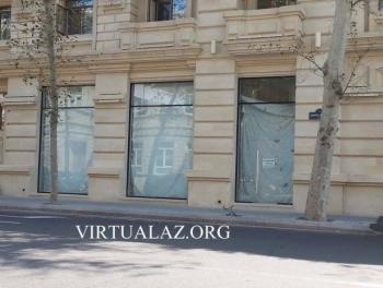 В центре Баку закрываются все бутики