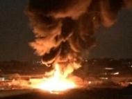 Сожжение мусора привело к сильному пожару в Сабунчи