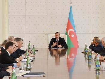 Ильхаму Алиеву представят новый бюджет
