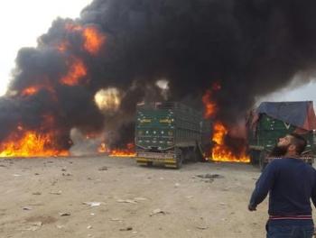 Российская авиация уничтожила турецкий конвой