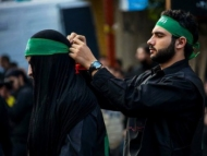 Нардаранцы собираются на площадь имама Гусейна