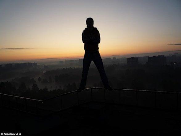 Фото пацан на крыше на аву в