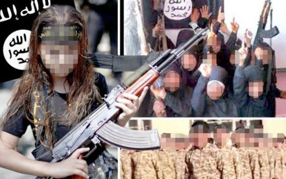 ИГИЛ заставило небольшую девочку казнить 5 женщин