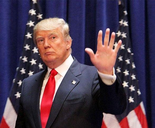 Победу Трампа иКлинтон вНью-Йорке подчеркнули световой иллюминацией