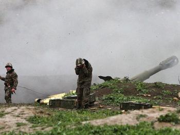 Бои в Карабахе: Армения стреляет из пушек и минометов