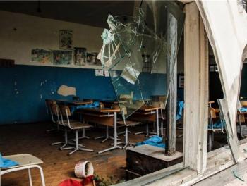 Иностранные журналисты шокированы разрушенной армянами школой
