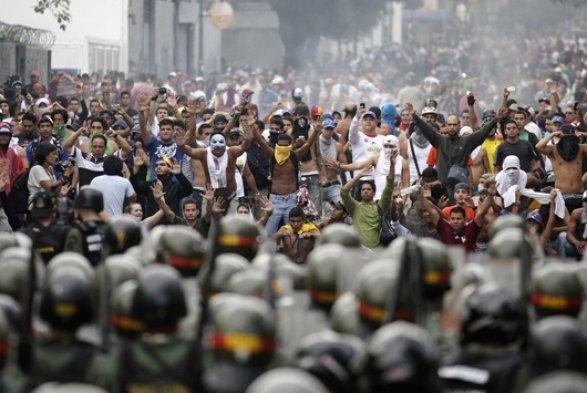 Армия должна выбрать, начьей она стороне— Лидер оппозиции Венесуэлы