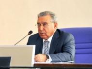 Рамиз Мехтиев на переговорах с Рамзаном Кадыровым