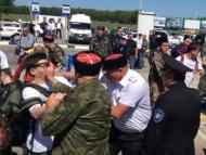Выборы по-русски: синяки, зеленка, яйца