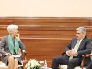 Самир Шарифов и Кристин Лагард обсудили экономические реформы