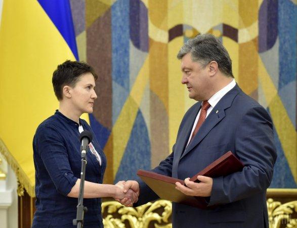 Путин подписал указ опомиловании Савченко