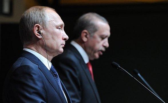 Владимир Путин поручил руководству начать нормализацию отношений сТурцией