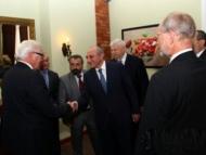 Штайнмайер встретился с лидером карабахских сепаратистов