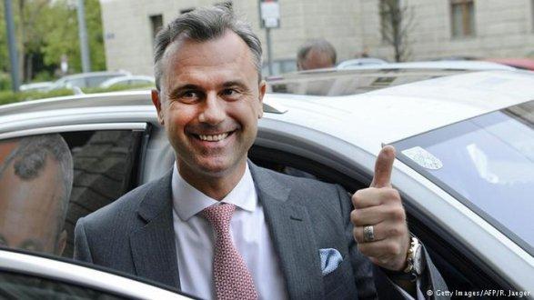 Руководитель МВД Австрии предлагает провести повторные выборы президента 2октября