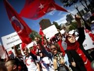 Азербайджанцы на площадях США требуют экстрадиции Гюлена
