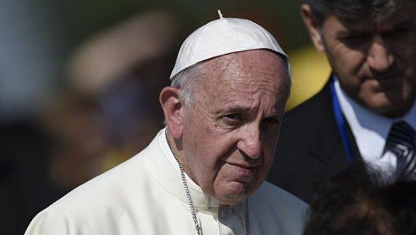 Папа римский Франциск извинился перед бывшими проститутками