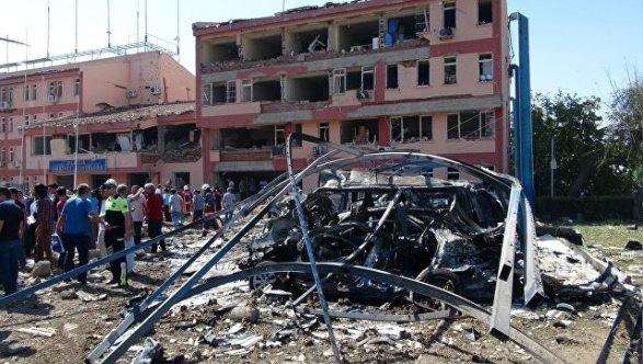 Теракт около отдела милиции вТурции, необошлось без жертв