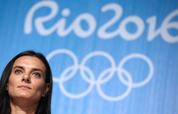 Исинбаева завершила карьеру спортсменки