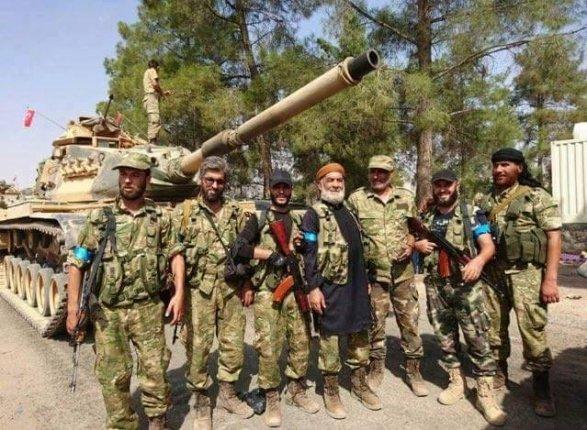Турецкие танки вошли натерриторию Сирии