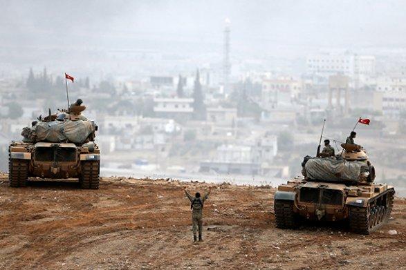 Турецкая армия нанесла 108 артударов потеррористам насевере Сирии
