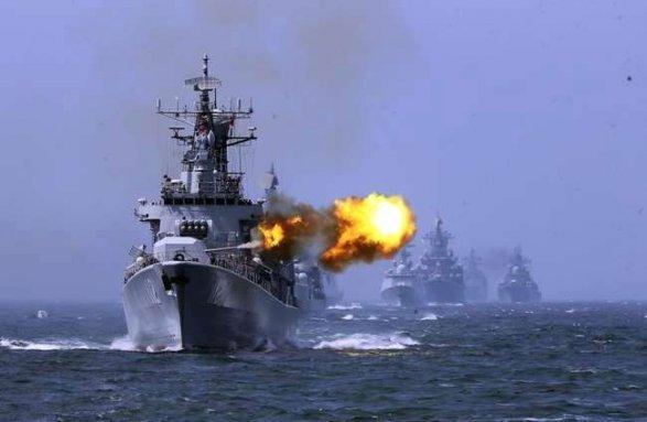 МорпехиЧФ иКаспийской флотилии отрабатывают оборону побережья научениях «Кавказ-2016»