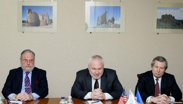 Сергей Лавров принял сопредседателей Минской группы ОБСЕ