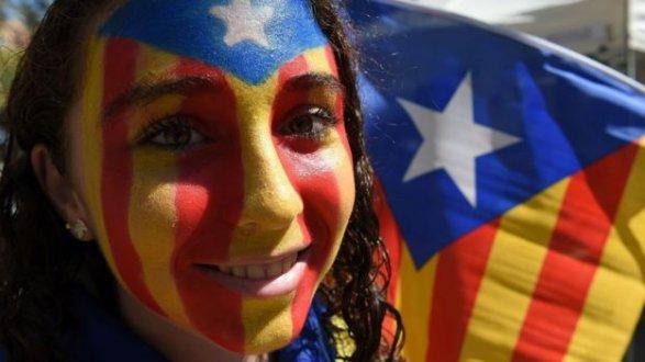 ВБарселоне полмиллиона демонстрантов добивались независимости для Каталонии
