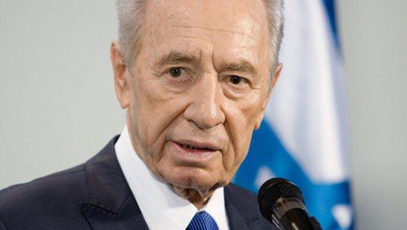 Мед. сотрудники ввели экс-президента Израиля Переса всостояние искусственной комы