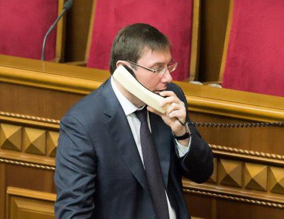 Генпрокурор Украины позвонил Закиру Гаралову
