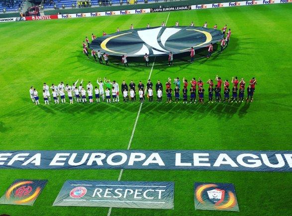 Пять голов в матче «Габала» - «Майнц» Лига Европы; видео