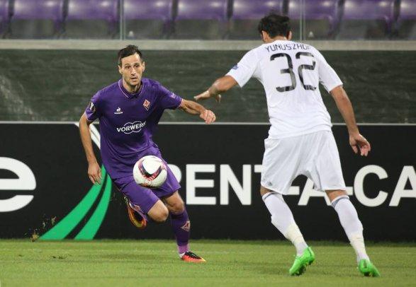 «Фиорентина» разгромила «Карабах» Лига Европы