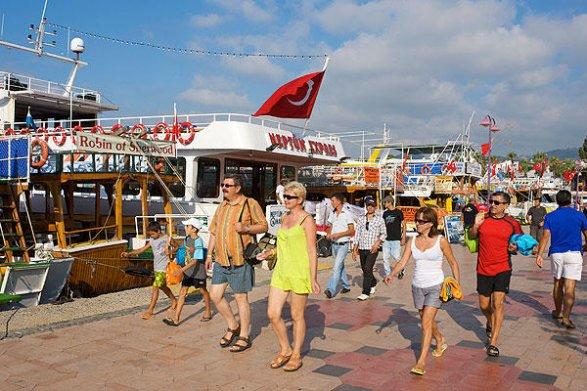 Турция вновь стала самым популярным направлением для российских туристов