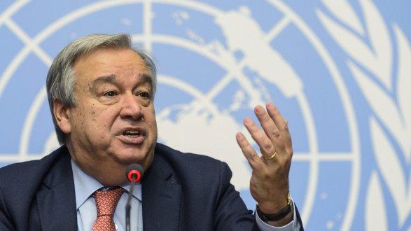 Совбез ООН официально посоветовал А.Гутерреша надолжность генерального секретаря