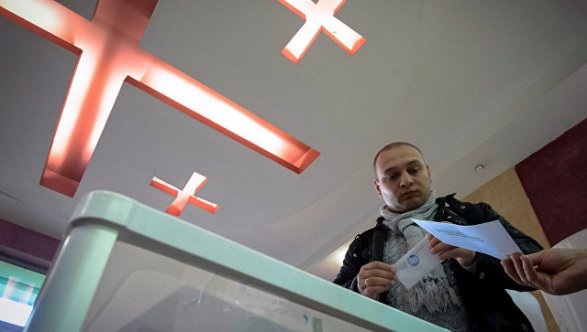 Грузины избирают парламент: партия Саакашвили— главная оппозиционная сила