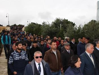 Шествие оппозиции в Баку