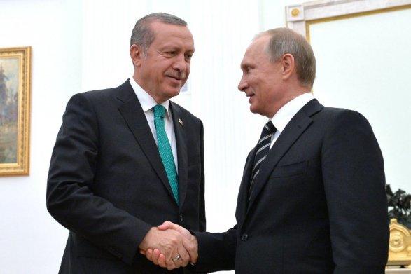 Песков рассказал о«доверительных» отношениях между Путиным иЭрдоганом