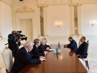 Сопредседатели обсуждают с Ильхамом Алиевым Карабах