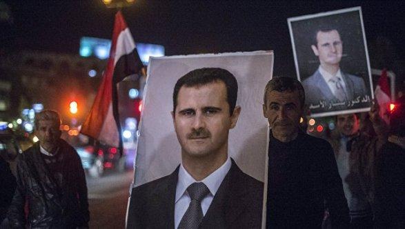 В съезде США подымался вопрос оликвидации Асада