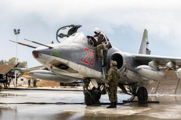 Русская авиация вСирии ожидает от В. Путина команды «Огонь!»