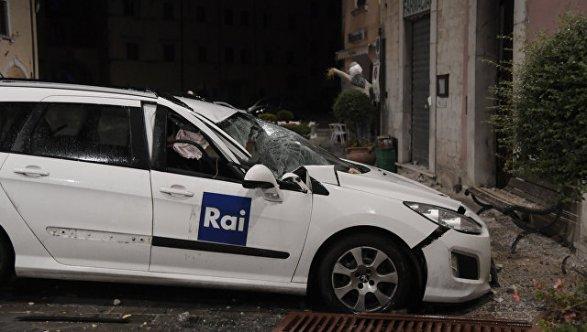 Около ста тыс. итальянцев остались без жилья— Землетрясение вИталии