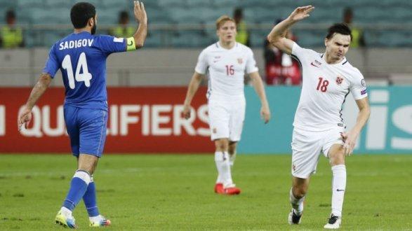 Хавбек сборной Норвегии получил 11-месячную дисквалификацию