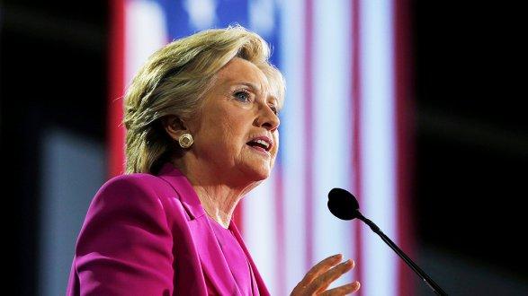 Рейтинг Клинтон весомо вырос— Выборы вСША