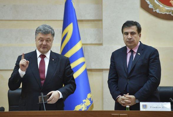 Саакашвили собирается выдвинуть вВерховную раду свою партию «Хвыля»