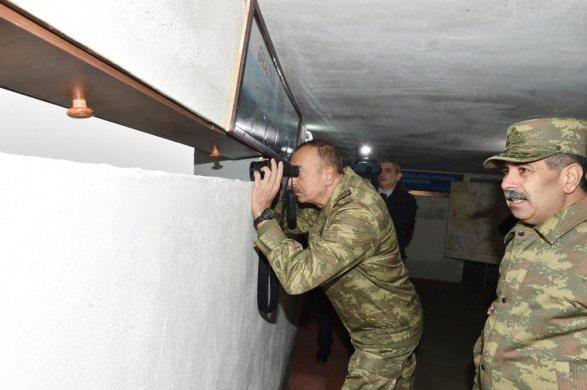 Ильхам Алиев наосвобожденной Леле-тепе