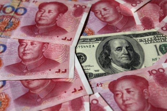 КитайскийЦБ опустил курс юаня доминимума декабря 2008