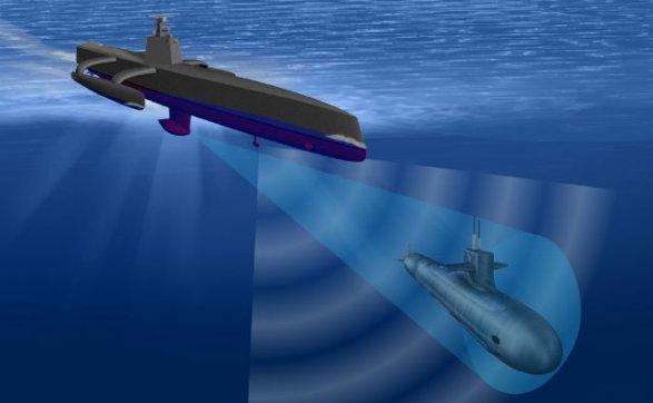 Набеспилотные подлодки Пентагон потратит три млрд.