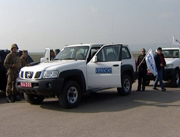 Состоялся плановый мониторинг миссии ОБСЕ налинии соприкосновения внаправлении Талиша